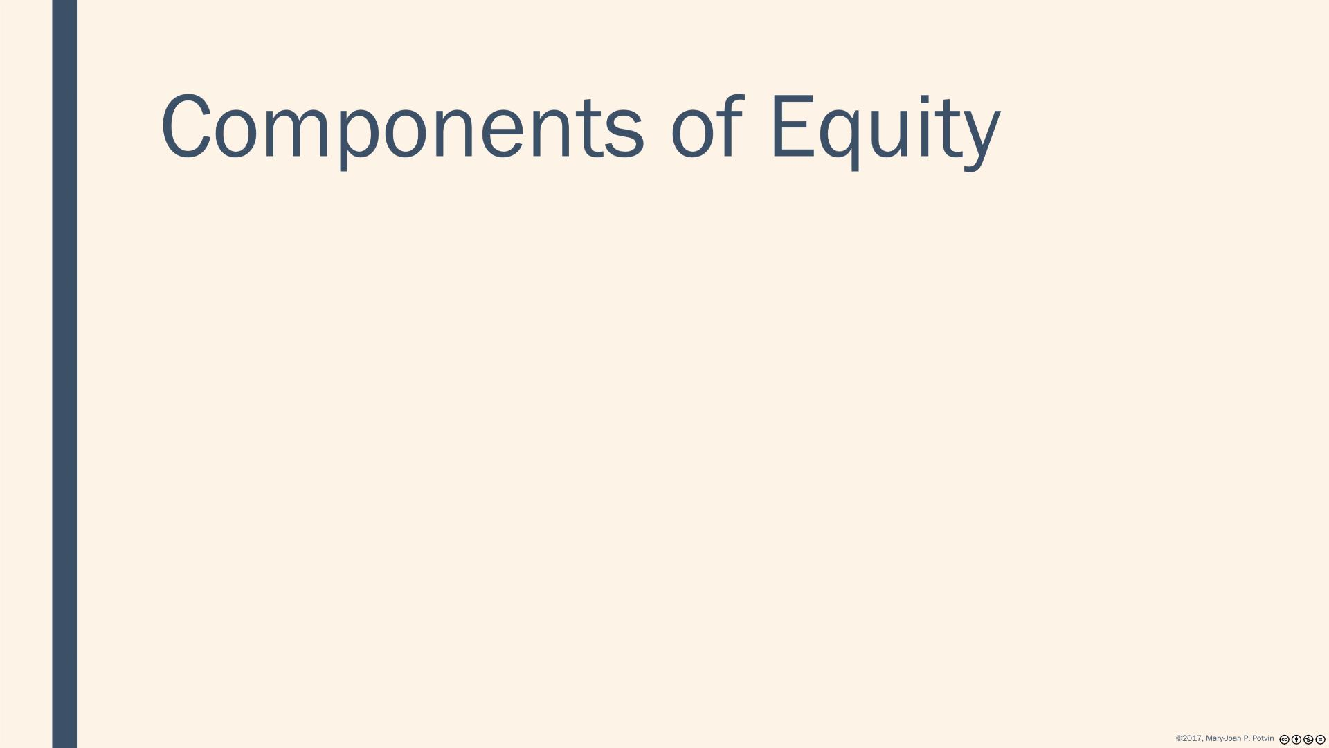 Statement of Changes in Stockholders Equity