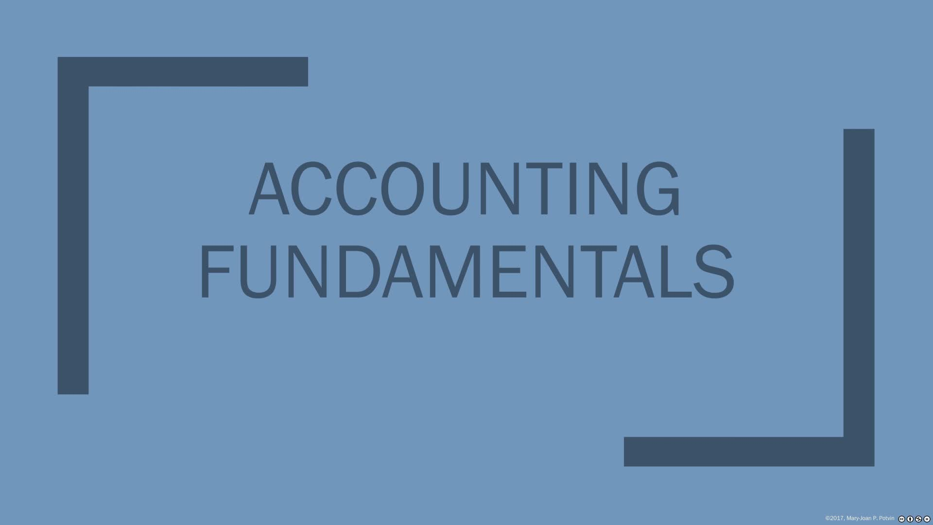 Financial Statement Overview